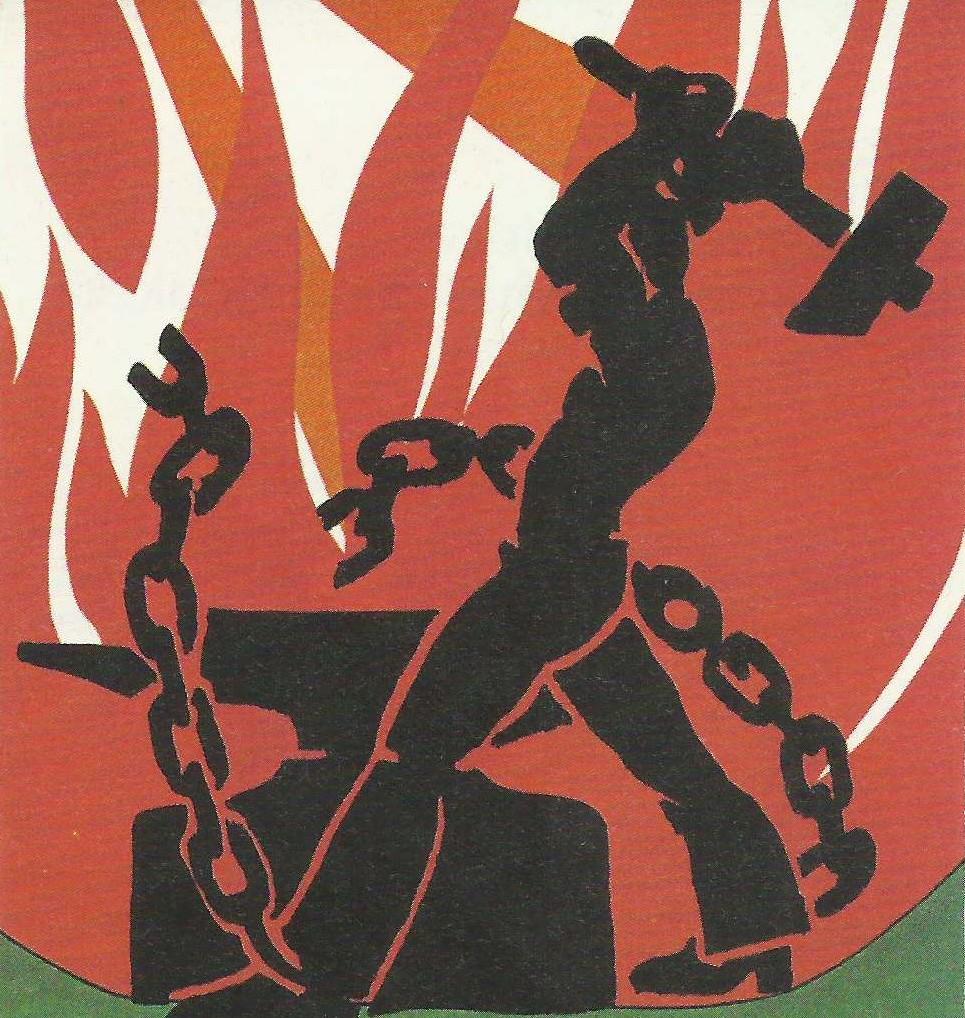 Imagini pentru el obrero rompe las cadenas